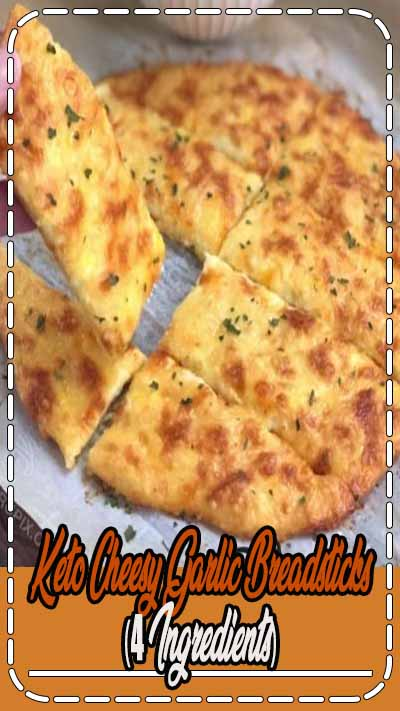 Keto Cheesy Garlic Breadsticks (4 Ingredients) - Vegetarian Gluten free · Serves 2 · This quick and easy low carb recipe is made with simple ingredients that you probably already have on hand. It's super comforting and delicious, yet almost zero carb. It's naturally gluten free and sugar free, and made with NO coconut or almond flour-- yet without that dreaded eggy taste! Just cheesy deliciousness.