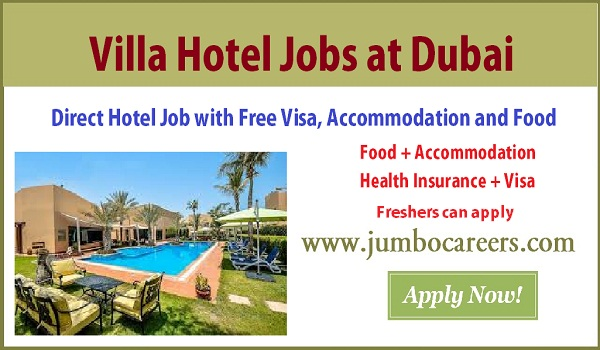 Find all new jobs in Dubai Hotel with benefits, Available UAE hotel jobs with salary,