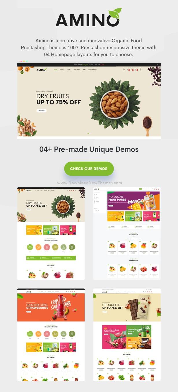 Organic and Multipurpose Prestashop Theme