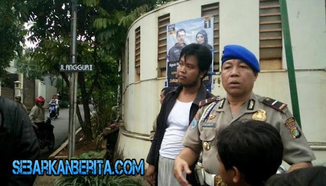 Dekati Ahok Sambil Bawa Keris di Balik Jaket, Seorang Pria Diamankan Polisi. Siapa Dia?