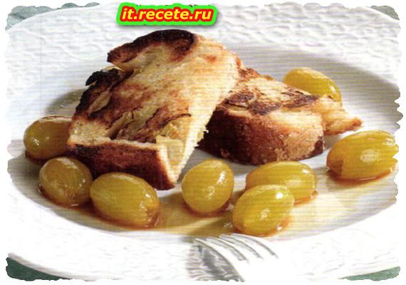 Pane dolce all'uva