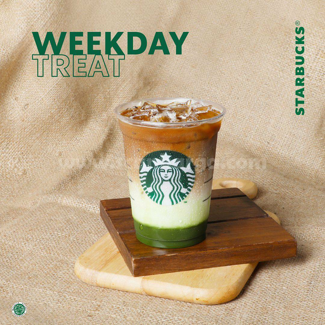 Promo Starbucks Weekday Treat - Diskon 30% Pakai Kupon Line