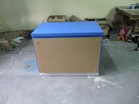 Meja Display Makanan Knockdown - Furniture Knockdown Semarang