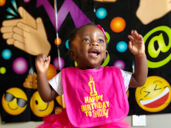 Teni's Smiley Themed 1st Birthday Party