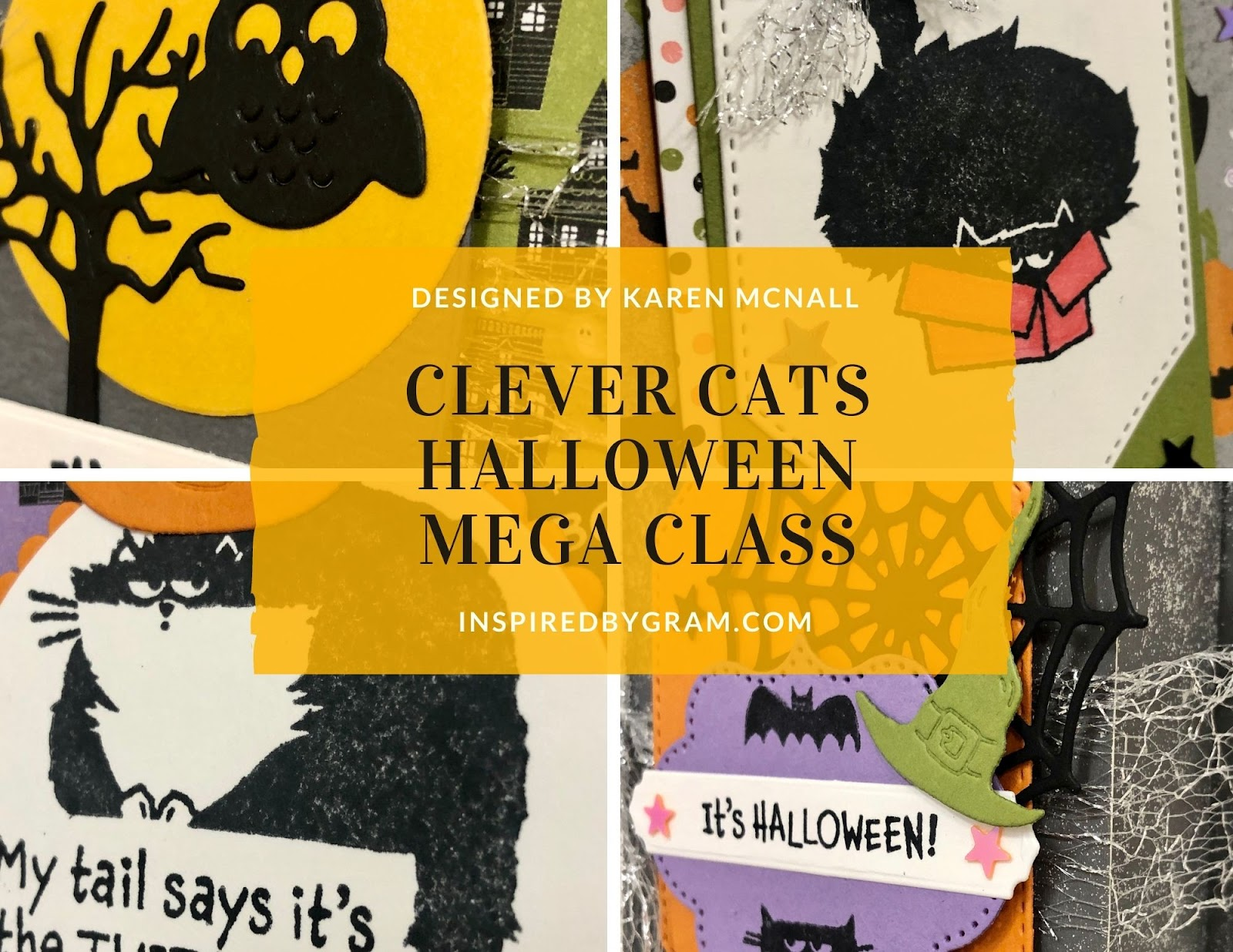 Clever Cats Halloween MEGA Class To Go