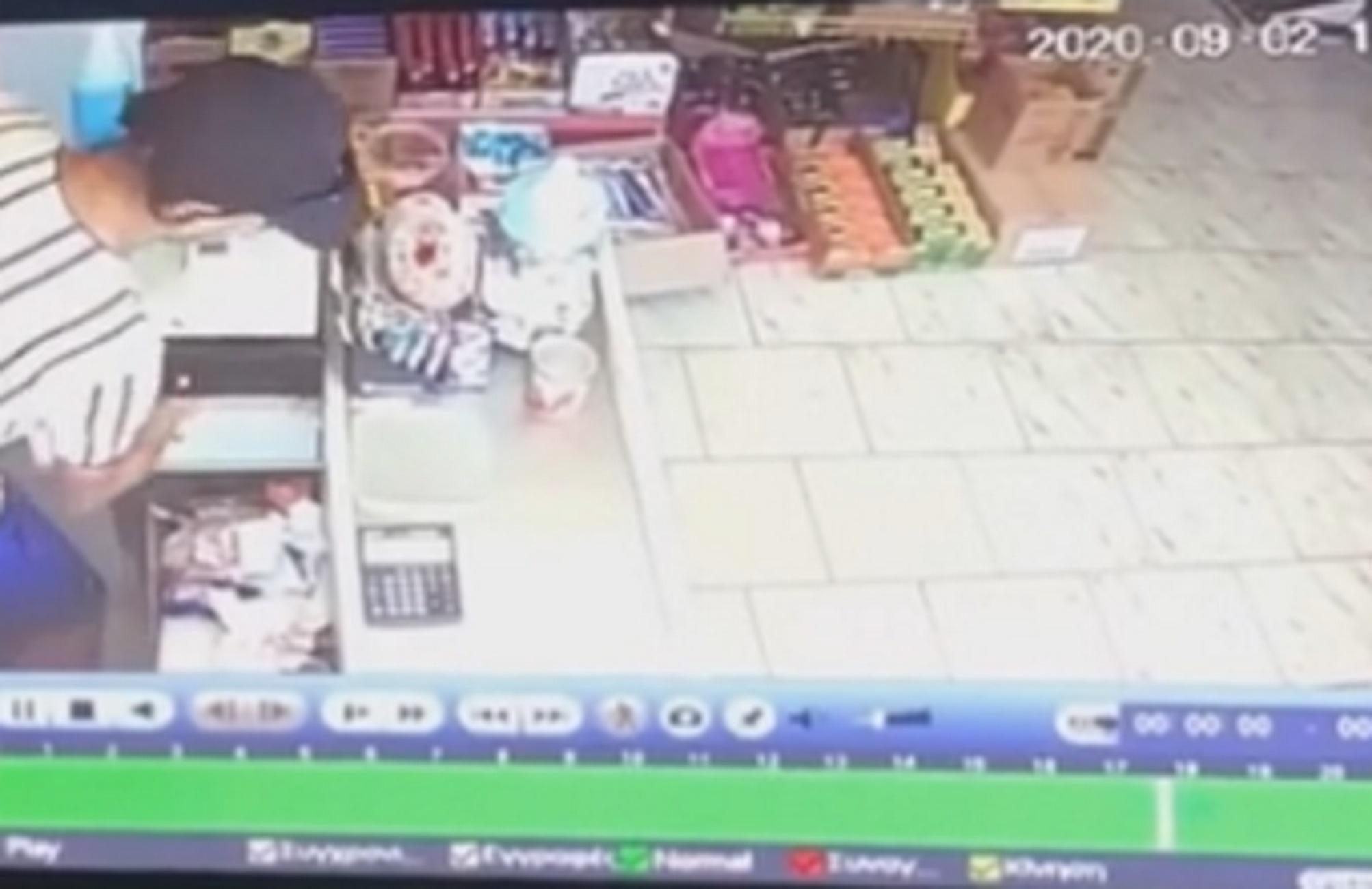 Έβρος: Αλλοδαποί έκλεψαν παντοπωλείο και... έστρωσαν τραπέζι - ΒΙΝΤΕΟ