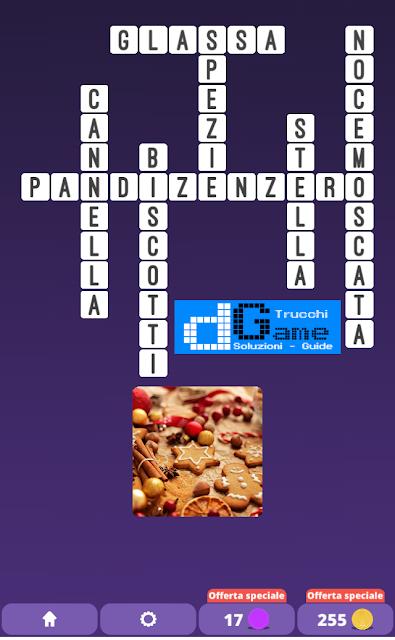 Soluzioni One Clue Crossword livello 19 schemi 7 (Cruciverba illustrato)  | Parole e foto