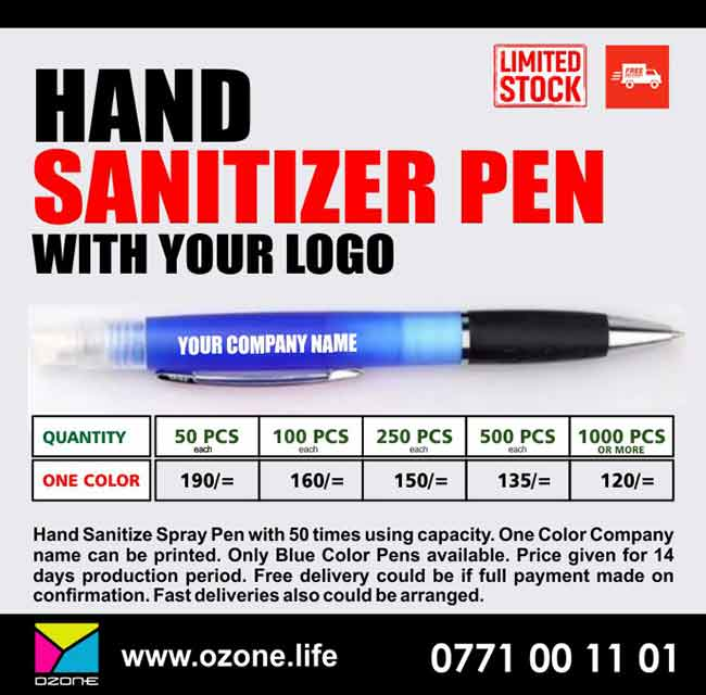 Hand Sanitizer Spray Pen with your Logo