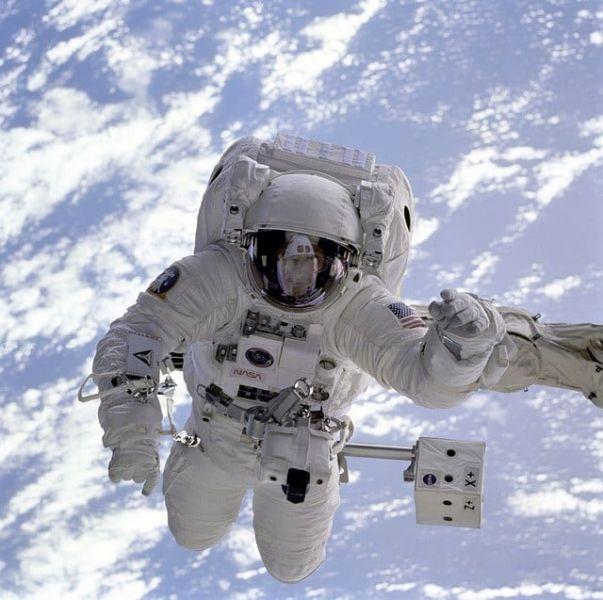 David Beckham, the first footballer to reach space