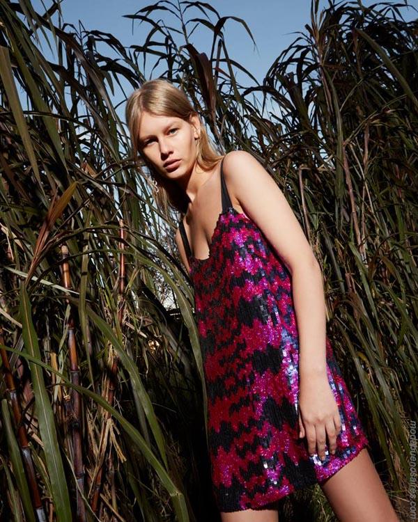 Vestidos y colores primavera verano 2019 ropa de moda vestidos cortos.
