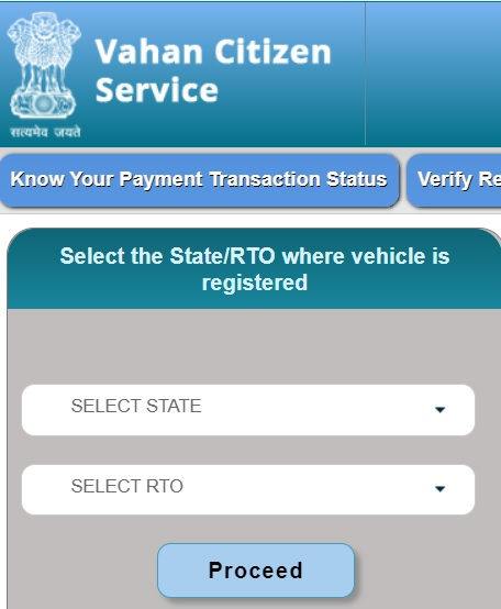 vehicle tax clearance certificate