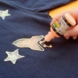 Glow-in-the-Dark Space Shirt - Step 4