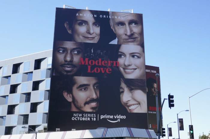 Modern Love series premiere billboard