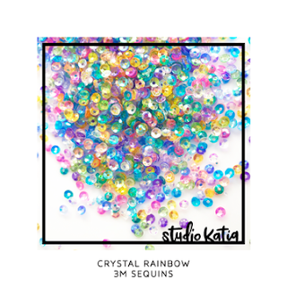 3M CRYSTAL RAINBOW SEQUINS