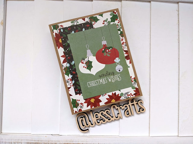 Christmas Cards with Simple Stories Jingle All the Ways Paper by Jess Crafts
