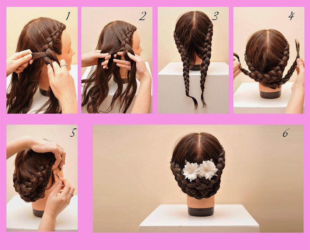 Peinados de novia paso a paso ¡14 BELLOS TUTORIALES CON FOTO ...