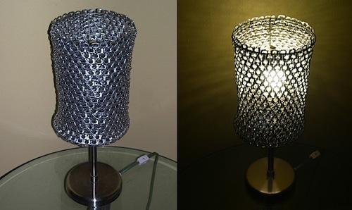 Decoraxpoco Lamparas Originales Reciclando - Cosas-artesanales-para-hacer-en-casa