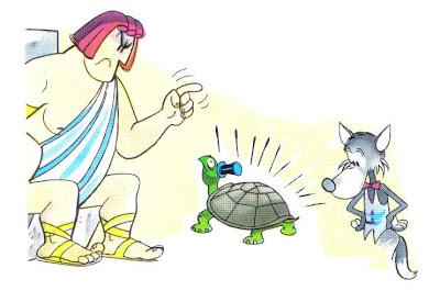 fabula júpiter y la tortuga