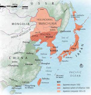Imperialismo japonés, militarismo nipón, II Guerra Mundial en el Pacífico