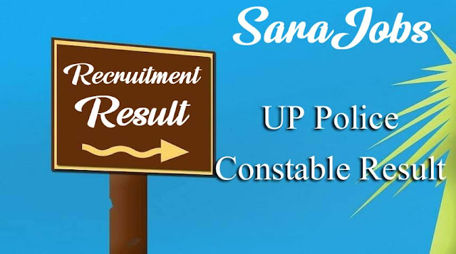 UP Police Constable Result