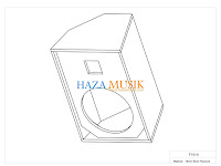 New Design box speaker 15inch monitor pangung