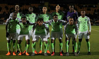 Nigeria announces team jersey number for world cup