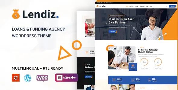 Best Loan & Funding Agency WordPress Theme