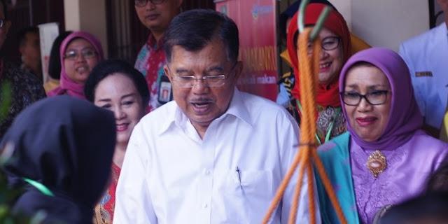 Wakil Presiden Jusuf Kalla Minta Kepada Masyarakat Tidak Mengadaikan Sertifikat Tanah Ke Rentenier