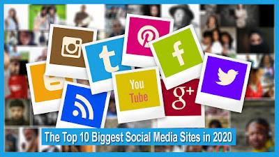 The Top 10 Biggest Social Media Sites in 2020