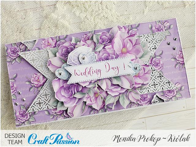 Ślubna kartka / Wedding card – DT Craft Passion