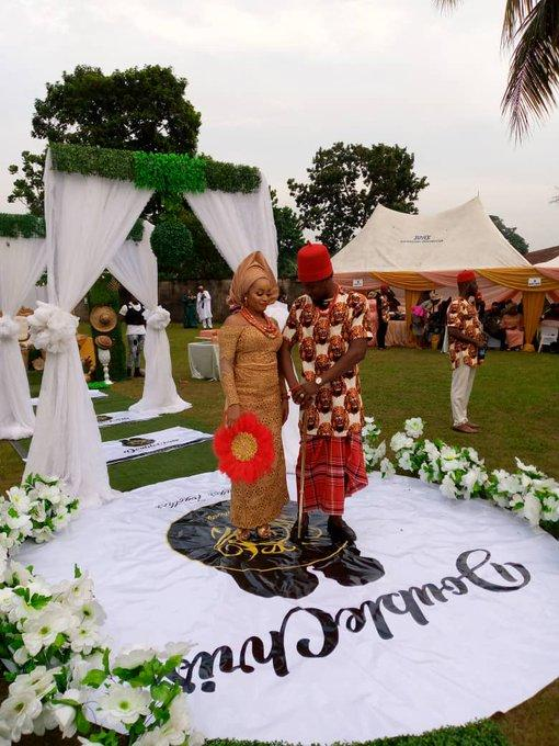 Ultimate Love's Chris Adah and Chris Obaoye ties knot ...