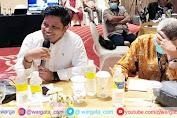 Kadis Kominfo Provinsi Sultra Hadiri Rapat Konsultasi dan Musyawarah Nasional Luar Biasa
