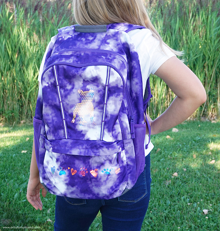 "DIY ""Puppy Love"" Backpack"
