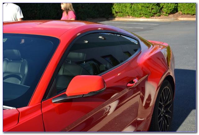 Car WINDOW TINT Chart Shade