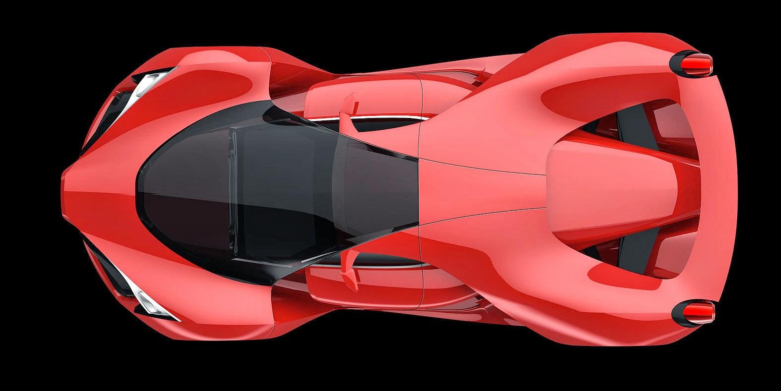 "25 Best Ideas About Ferrari F80 On Pinterest: FERRARI F80 ""CONCEPTO"""