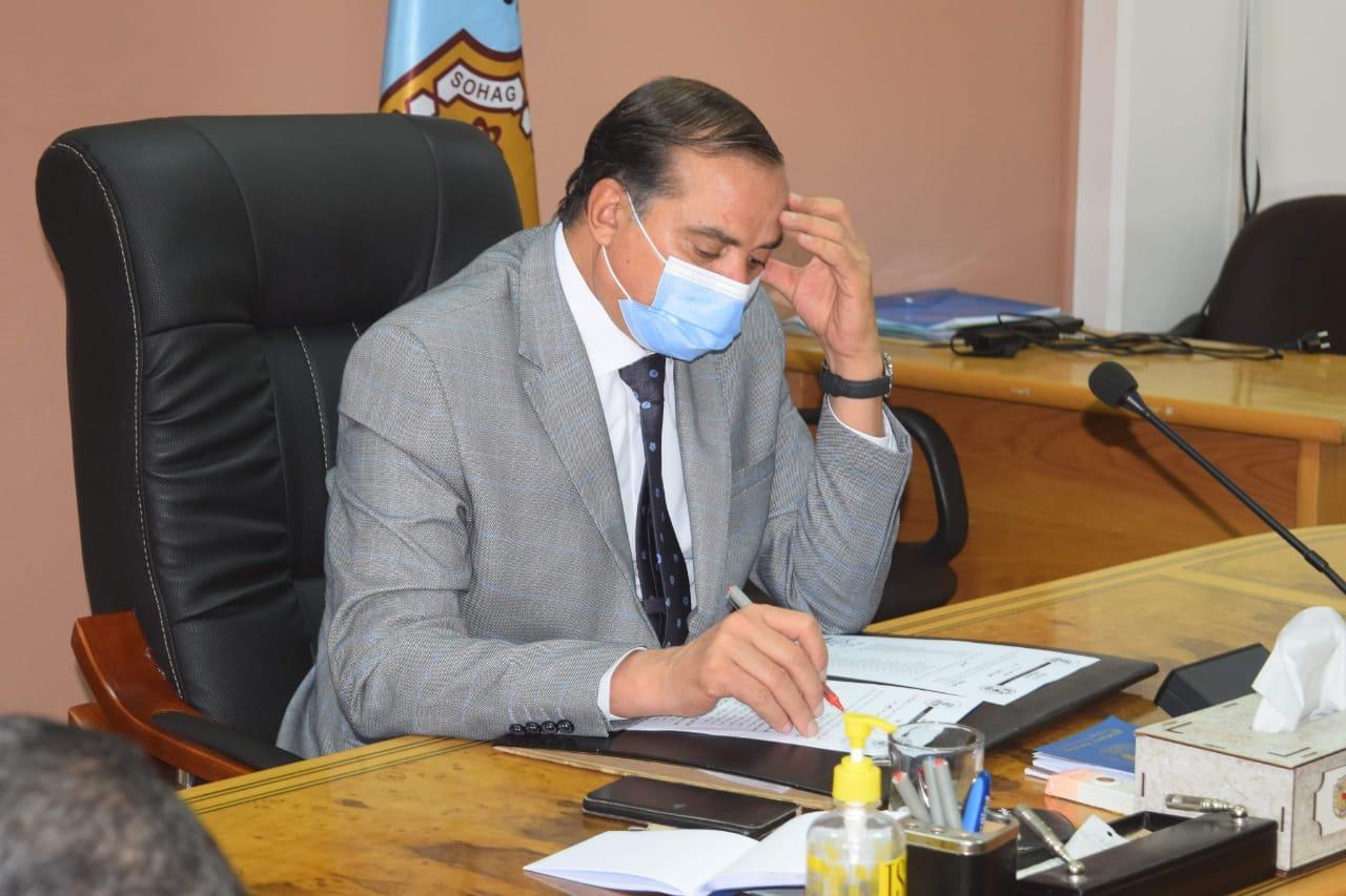 جامعة سوهاج  ضمن أول 4 جامعات في انجاز منظومة الشكاوي الحكومية في عام ٢٠٢٠ / الأهرام نيوز