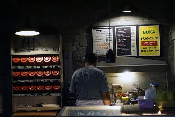 Daftar menu dan harga minuman di Omah Kopi Omah S'dulur Jogja
