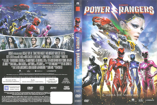 Capa DVD Power Rangers (Oficial *)