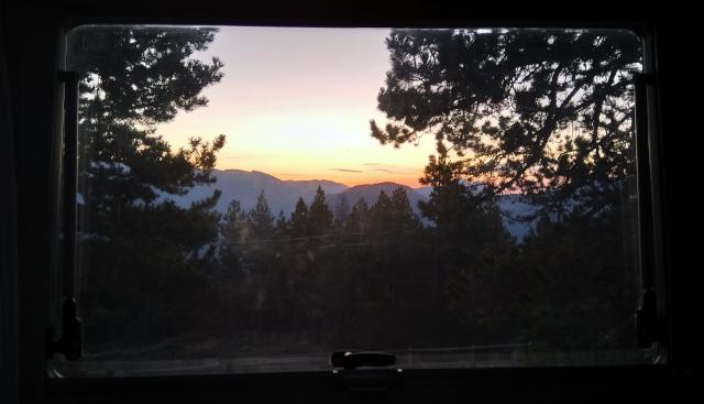 Vista per la finestra a Tuixent-La Vansa