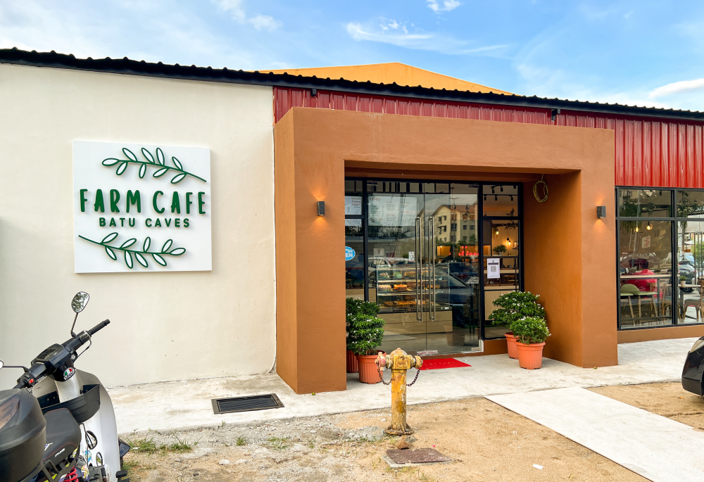 farm cafe, batu caves