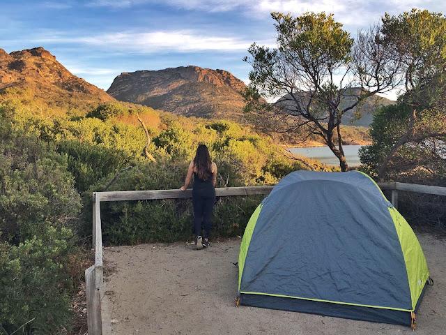 Camping Tasmânia