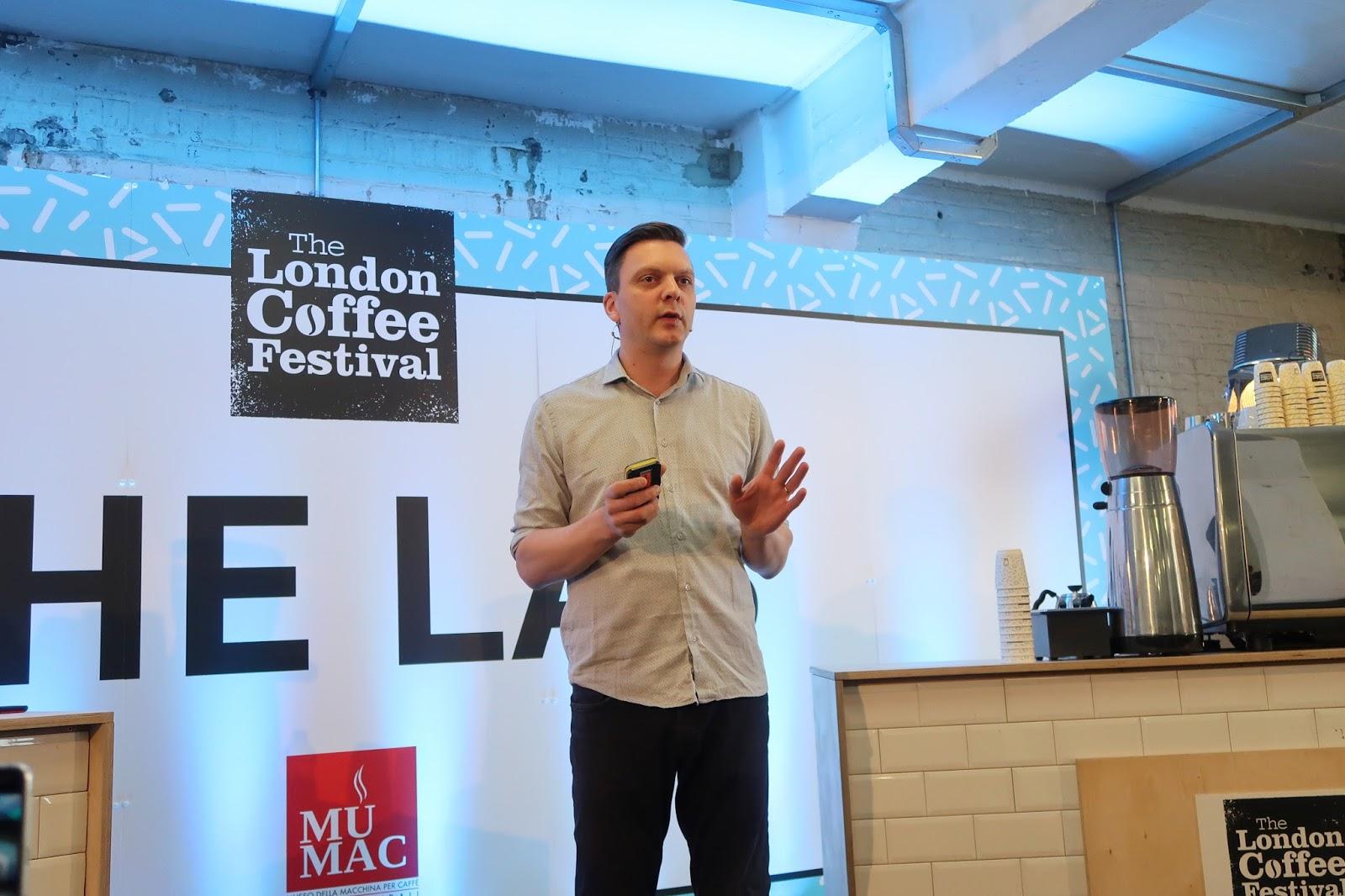 Double Skinny Macchiato The London Coffee Festival 2018