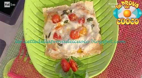 Torrette di pane carasau ricetta Moroni da Prova del Cuoco
