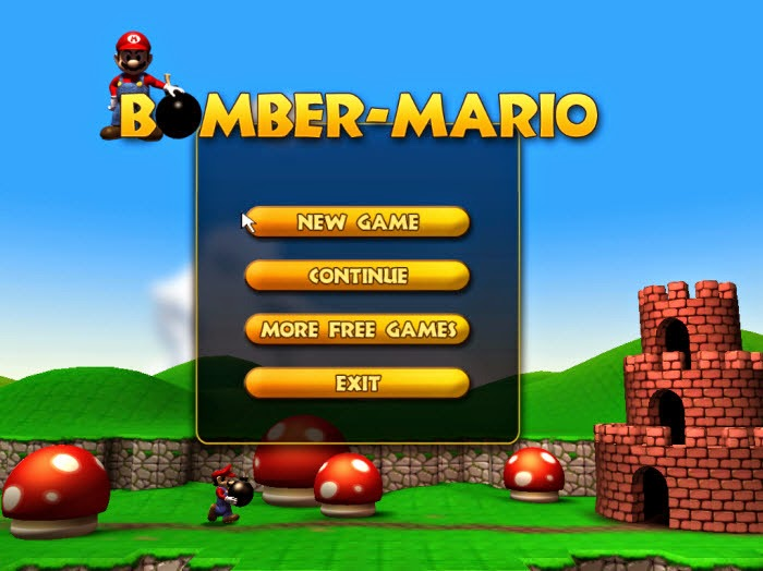 Bomber mario mobile game download