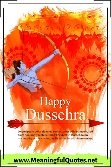 Happy Dussehra 2019 Images Wishes Quotes SMS