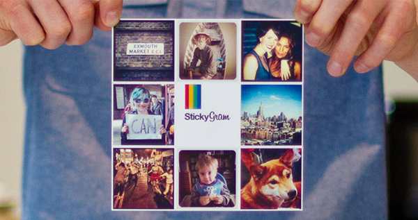 StickyGram Turn your Instagrams into magnets