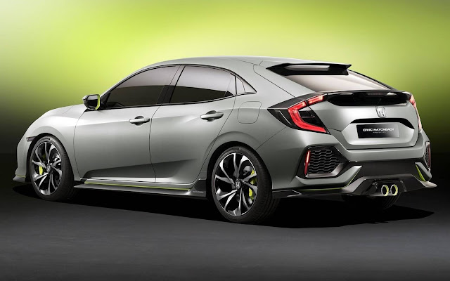 Novo Honda Civic Hatch 2017