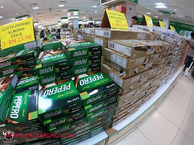 Coklat Pepero Di HIG Langkawi
