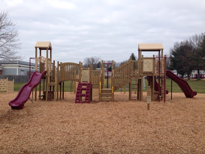Play Structure at St Mary School, Hampton, NH