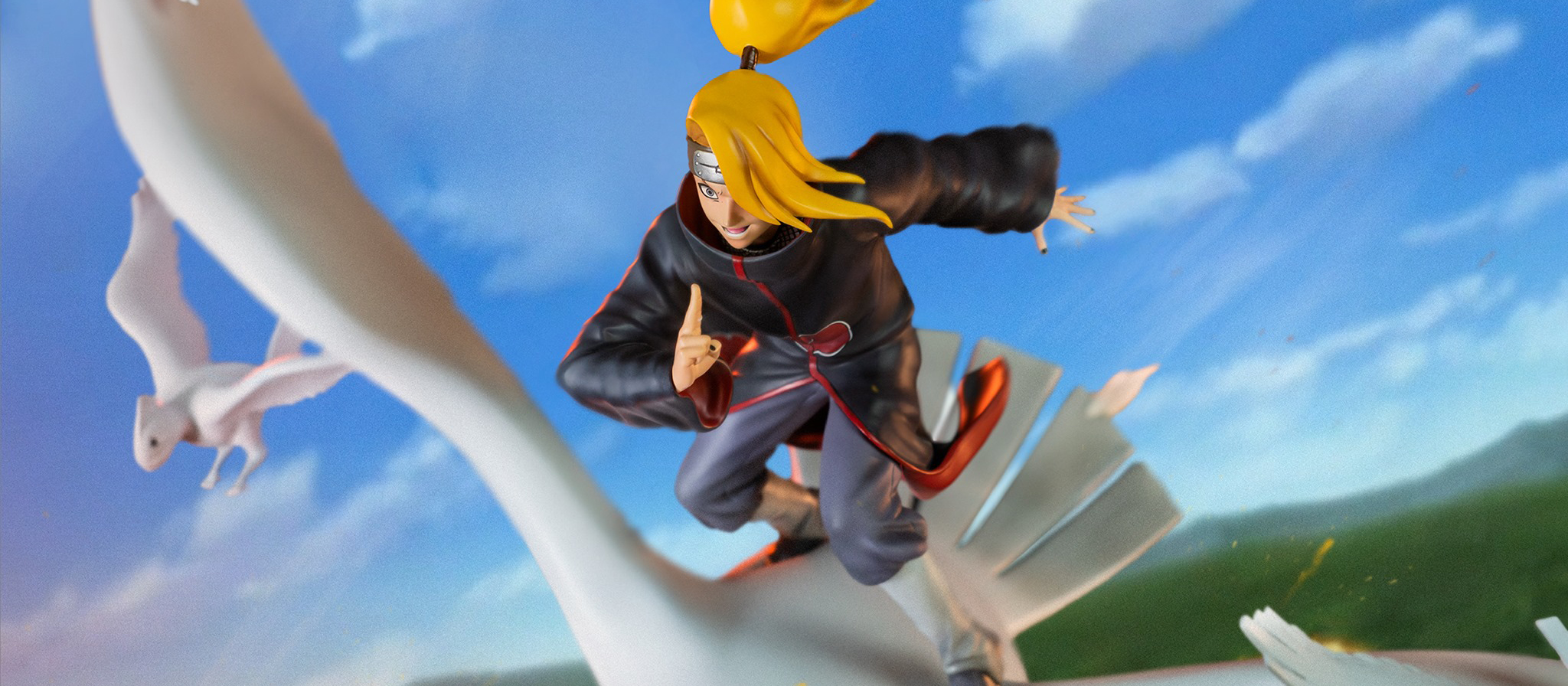 Deidara Naruto Shippuden
